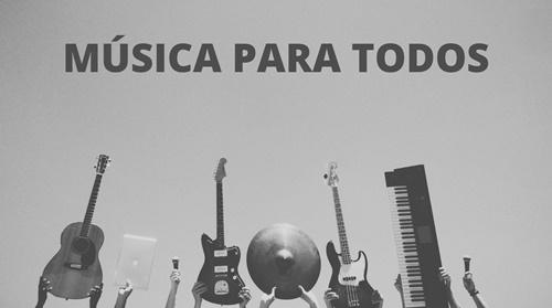 Fundação apoia projeto MÚSICA PARA TODOS