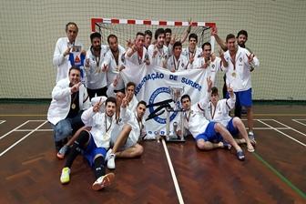 Associação Surdos do Porto bicampeã nacional de futsal
