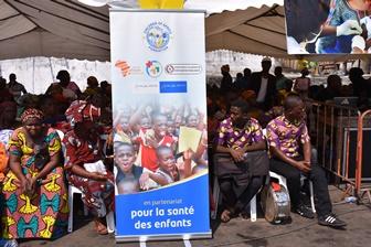Fundação apoia Campanha de vacinação na Costa do Marfim