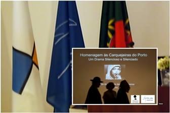Homenagem às Carquejeiras do Porto na Fundação