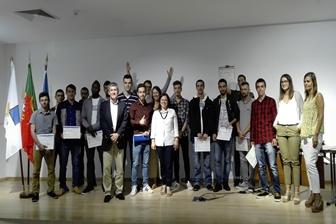 Cerimónia de entrega de diplomas do Centro de Formação Profissional Manuel António da Mota