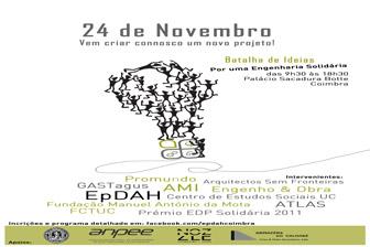 """Conferência """"Por uma Engenharia Solidária"""""""