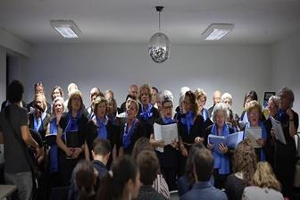 Coro Sénior atua no evento da CreativeMornings no Porto