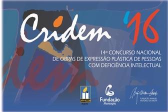 CRIDEM16 – 14º Concurso Nacional de Obras de Expressão Plástica de Pessoas com Deficiência Intelectual na Fundação