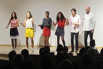 Concerto Culturaviva   PopUp – Vozes portáteis lotaram auditório da Fundação