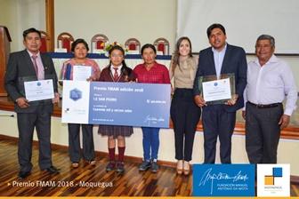 Fundação e Mota-Engil Peru entregam Prémio