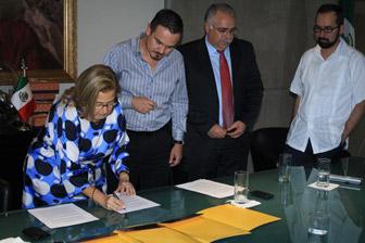 FMAM celebra Protocolo no México com Centro de Desarrollo VISE e empresa GISA