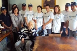 Voluntários da Mota-Engil participam no projeto REPARAR