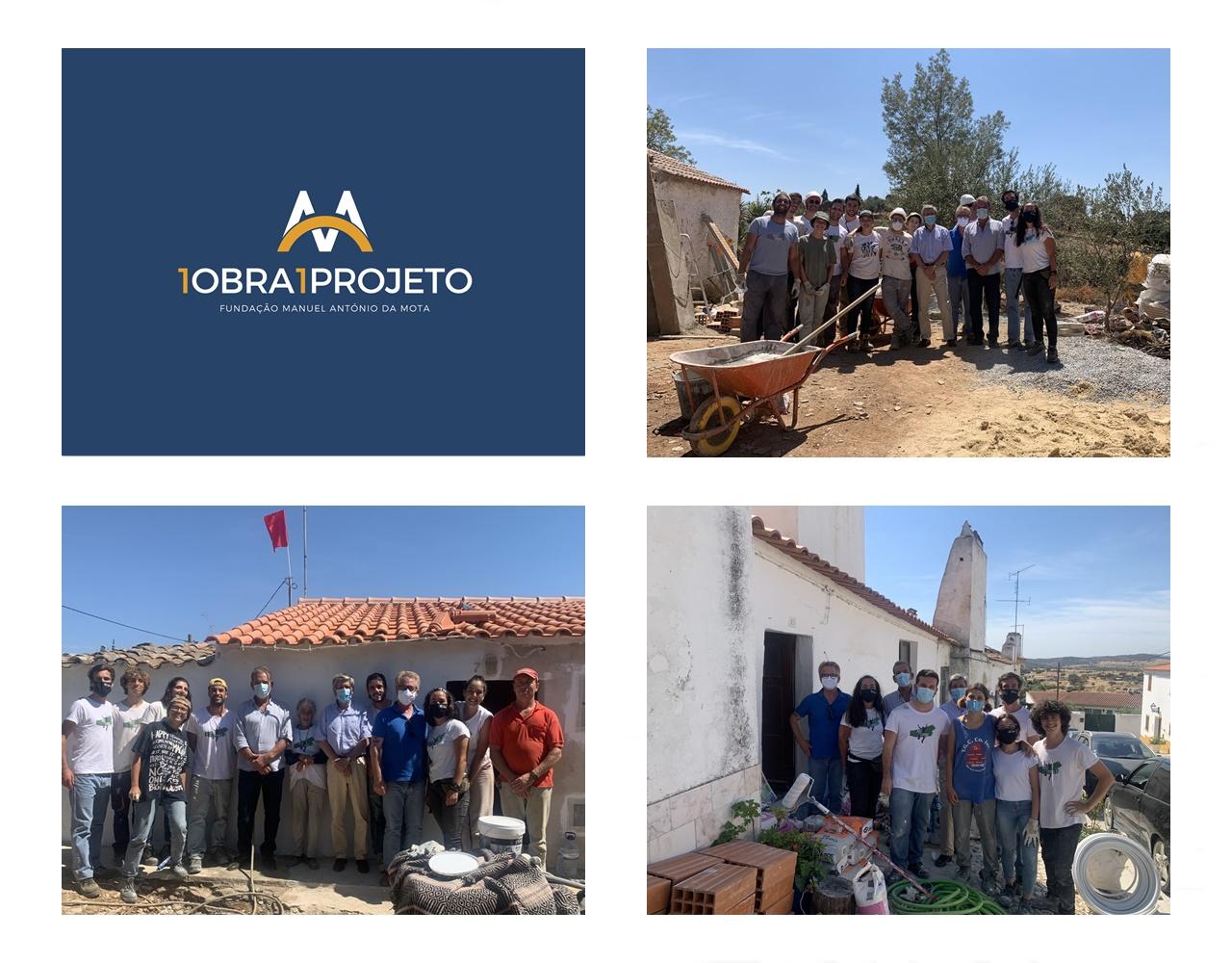 Fundação, Câmara e Just a Change visitam obras no Alandroal